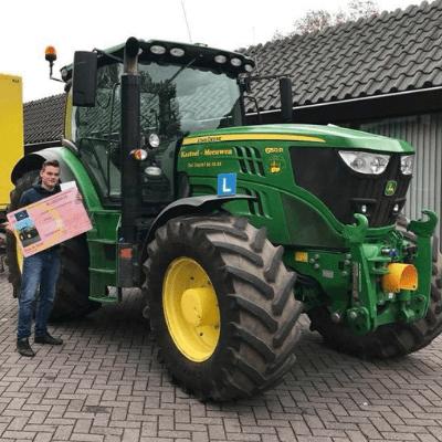 trekkerrijbewijs halen Noord Brabant